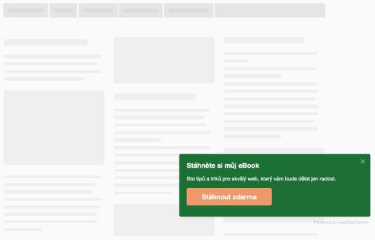 GetSiteControl – inteligentní widgety na cokoliv a zdarma